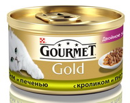 Gourmet Gold Duo Кролик и печень