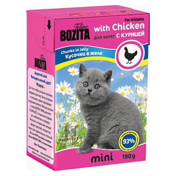 Bozita Tetra Pak Mini Kitten Chicken