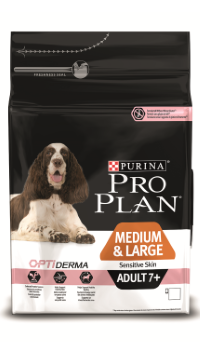 Pro Plan Medium&Large Sensitive skin Senior 7+