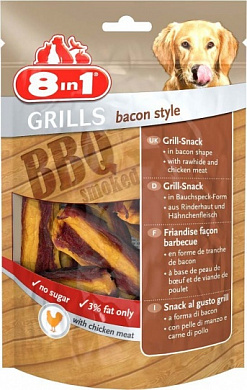 8in1 Grills Bacon гриллс снеки в виде бекона