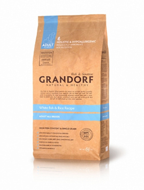 Grandorf Fish&Rice Adult All Breads