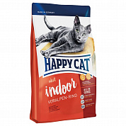 Happy Cat Adult Indoor Говядина