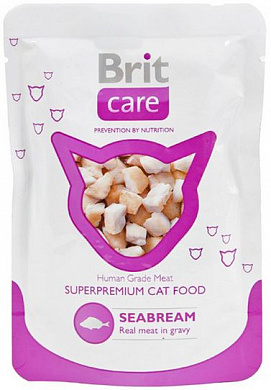 Brit Care White Fish, пауч