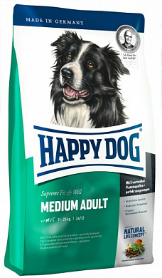 Happy Dog Medium Adult Fit & Well