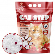 Cat Step Crystals Strawberry 3.8л