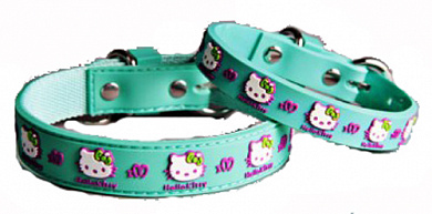 ForMyDogs Ошейник Hello Kitty S