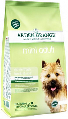 Arden Grange Adult Dog Lamb & Rice Mini