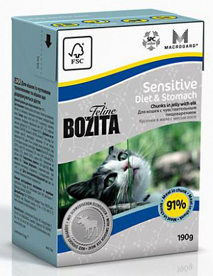 Bozita Tetra Pak Funktion Sensitive Diet&Stomah