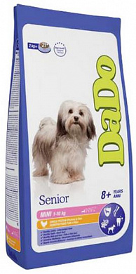 DaDo Senior Dog Mini Breed Chicken & Rice