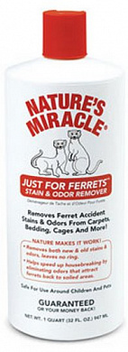 Nature's Miracle Just for Ferrets Stain&Odor Remover